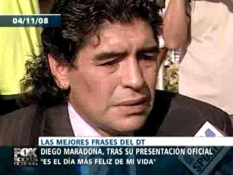 Diego Maradona Todas Sus Frases Celebres Frente Al Seleccion Argentina Fox Sports Noticias
