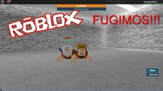 Roblox: Machinima #01 - FUGIMOS!!!