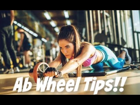 Fitness Tips - Ab Wheel (stop putting pressure on your lower back)