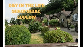 FAMILY DAY IN THE LIFE: SHROPSHIRE, LUDLOW TOWN