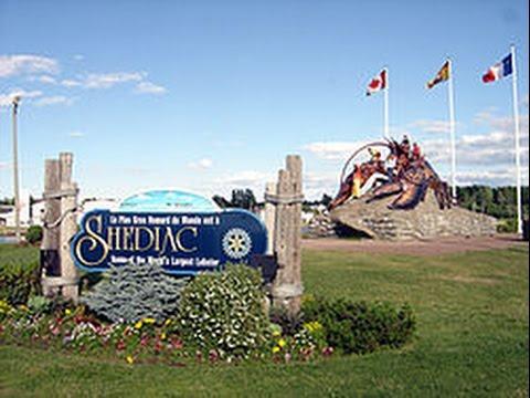 Shediac New Brunswick, Canada Main St.Tour
