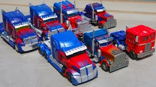 Transformers 1 2 3 4 5 Movie Voyager Class Optimus Prime 7 Truck Transform Robot Car Toys