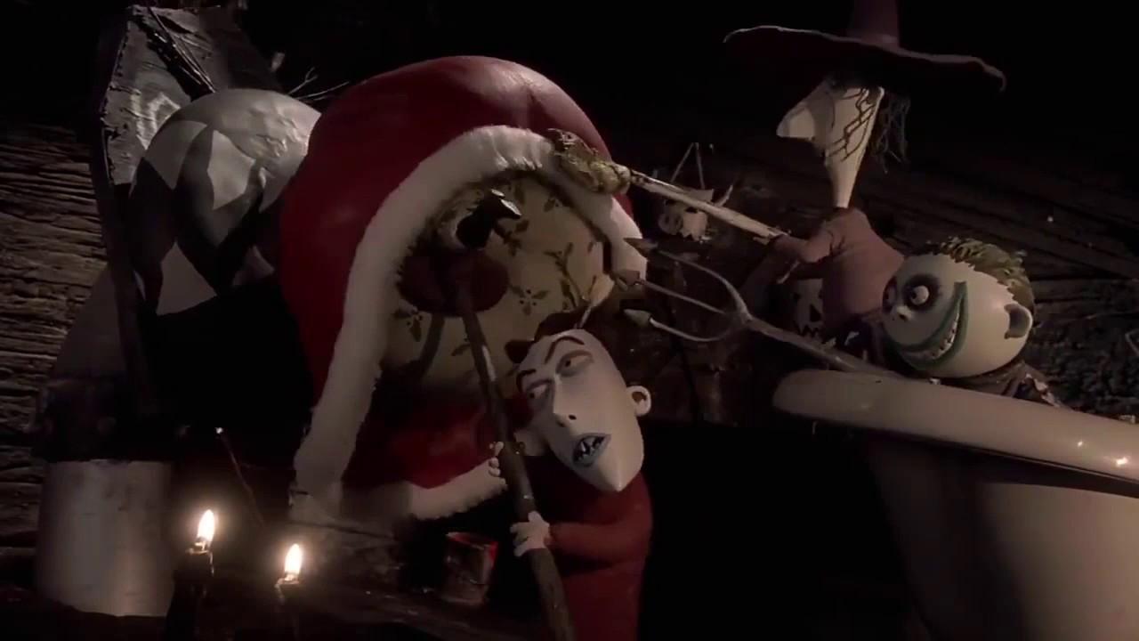 The Nightmare Before Christmas - Santa goes to Oogie Boogie\'s lair ...