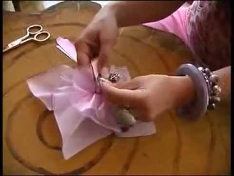 Videocorso Fazzoletto Per I Confetti Youtube