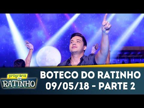 Boteco Do Ratinho - Parte 2 | Programa Do Ratinho (09/05/18)