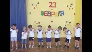 """Матросский танец """"Яблочко"""" Д/с № 42 """"Пингвинчик"""", младшая группа, г.Верхняя Салда"""