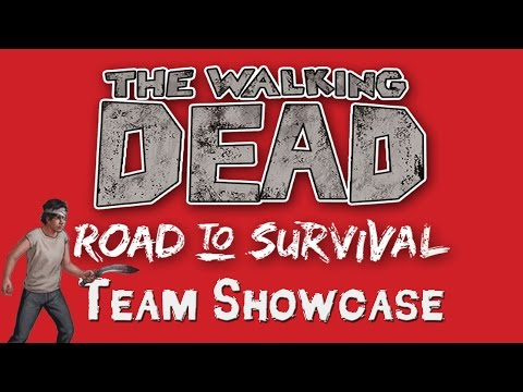Team Showcase + FREE Specialist Carl!! (The Walking Dead: Road to Survival)