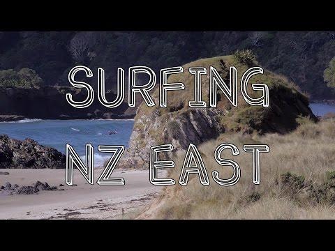 Surfing NZ Eastcoast