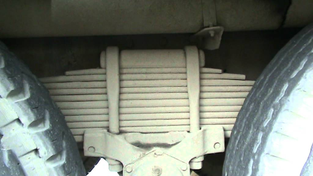 10 Wheeler Truck S Suspension System