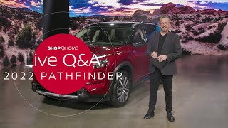 homepage tile video photo for What's the towing capacity? | 2022 Nissan Pathfinder Q&A