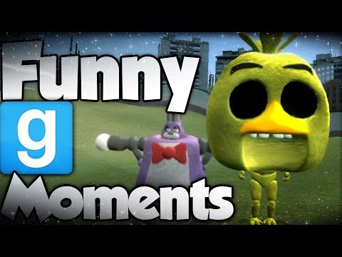 FUNNY RUNNING NPCS | (Gmod FNAF Sandbox Funny Moments) Garry's Mod