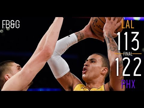 Lakers Lose to Suns as Cracks In Defense Begin to Show