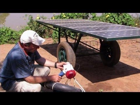 Low Cost Solar Pumping System | Terrace garden