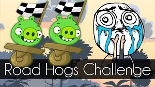 Bad Piggies - ROAD HOGS CHALLENGE (Road Hogs) 7.67 Secs