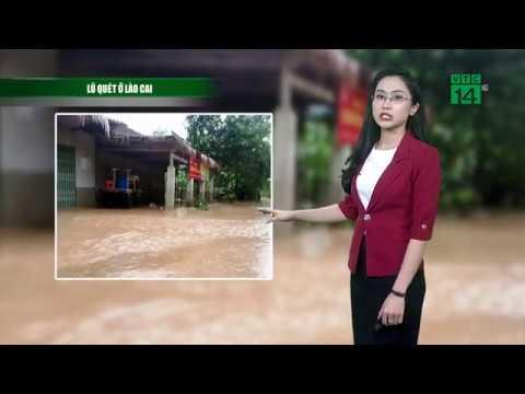 Thời tiết 12h 23/10/2018: Mưa lũ ở Lào Cai, Hà Giang   VTC14