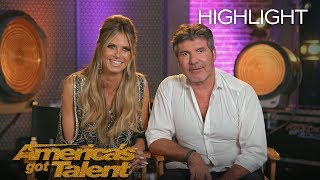 Play The Emoji Game With The AGT Judges! - America's Got Talent 2018