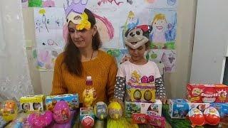 Sürpriz yumurta challenge yaptık, eğlenceli çocuk videosu
