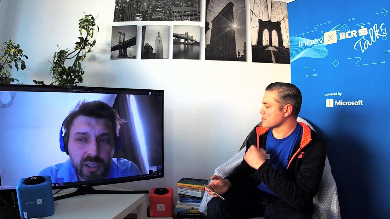 Alin Iftemi, Head of Modex @ InnovX BCR Talks powered by Microsoft