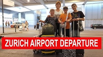 Zurich Airport departure Complete Tour | Zurich Airport in Switzerland
