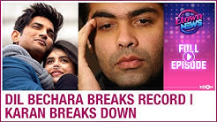 Sushant's Dil Bechara trailer breaks record | Karan Johar breaks down | E-Town News