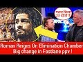 Roman Reigns On Elimination Chamber ! wwe SMACKDOWN 2/13/2018 13th feb Highlights ! Huge changes