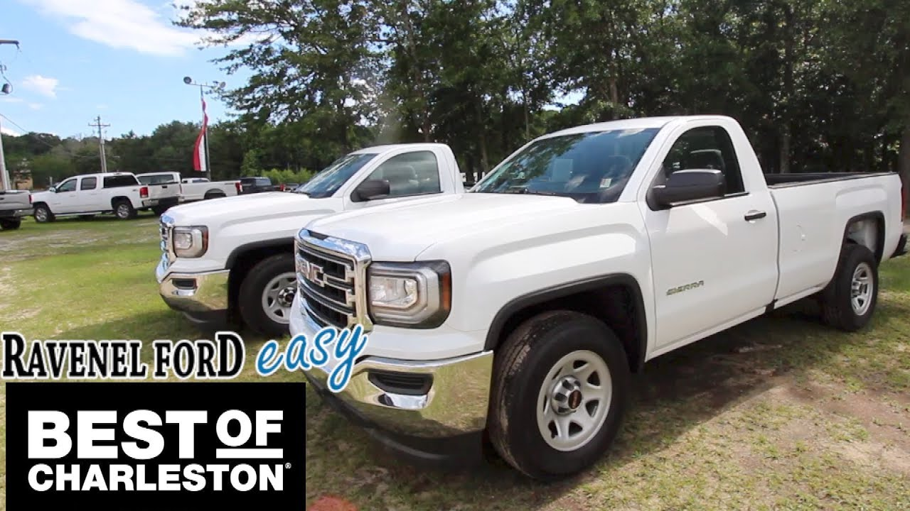 The 1500 Regular Cab Work Truck 2017 Gmc Sierra For Sale Review
