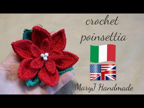 Stella Di Natale Tutorial.Stella Di Natale All Uncinetto Sub Eng Maryj Handmade Youtube