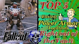 Top 5 Easy Power Armor Locations Fallout 76