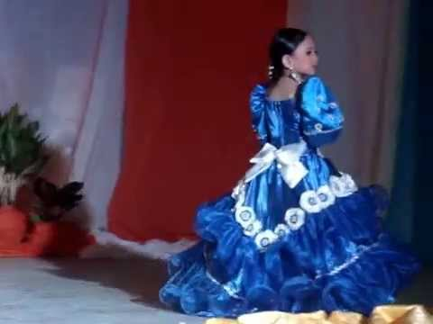 Caryle Acebes In Filipiniana Gown Lakambini 2015 Alejal Elementery School Youtube