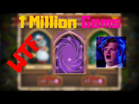 Rolling 1 Million Gems For ? | Castle Clash
