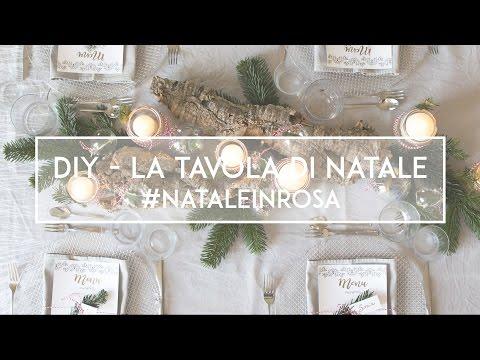 DIY - La Tavola Di Natale #NataleInRosa