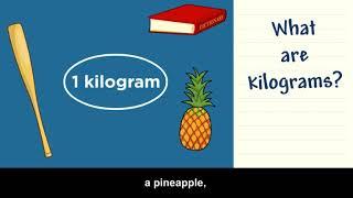 BrainPopJr  Grams and Kilograms