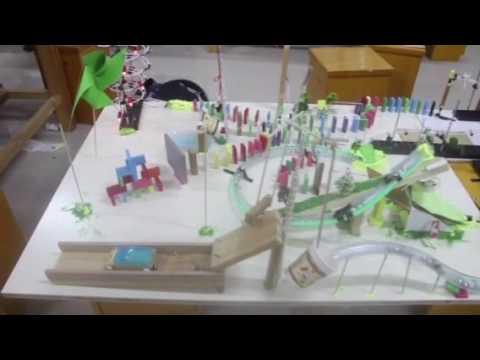 Technion - Shenzhen Middle School Group 1 Earth Day Rube Goldberg Machine Contest