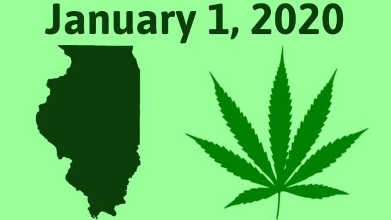 Marijuana Will Be Legal In Illinois On January 1st