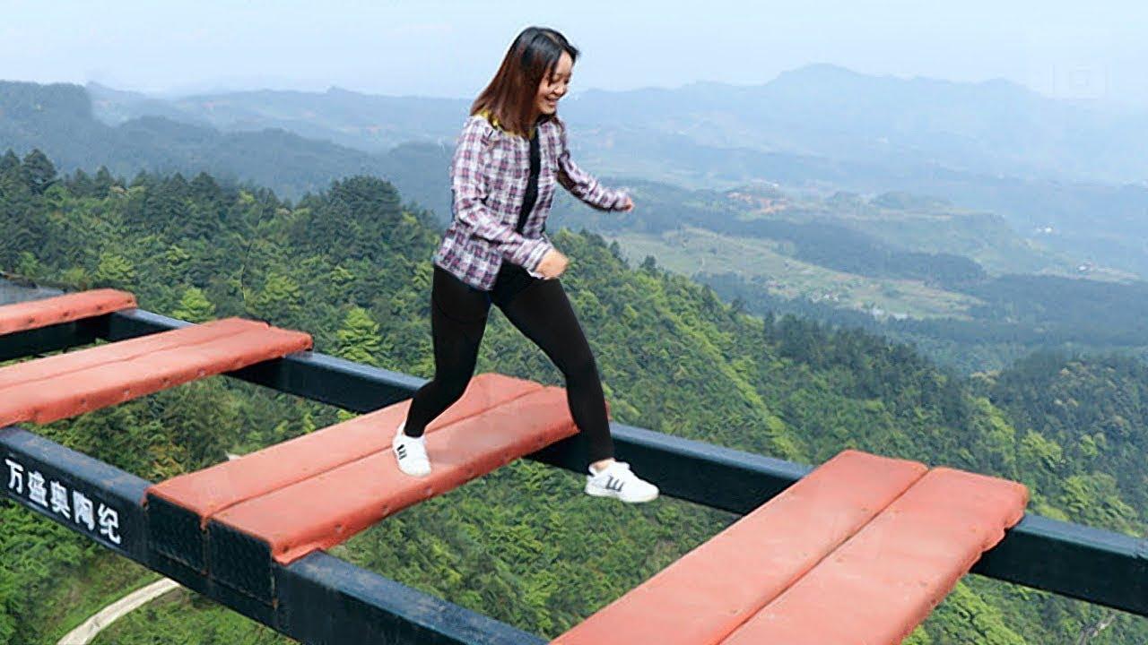 هل تستطيع عبور على هذا الجسر ,7 أماكن مرعبة تجذب السياح حول العالم