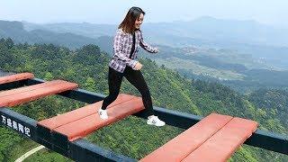 هل تستطيع عبور هذا الجسر ,7 أماكن مرعبة تجذب السياح حول العالم