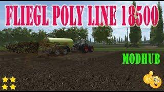 """[""""Fliegl Poly Line 18500"""", """"Fliegl"""", """"Mod Vorstellung Farming Simulator Ls17:Fliegl Poly Line 18500""""]"""