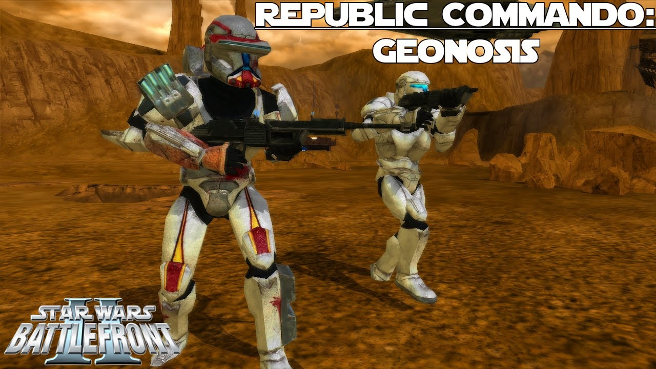 Star Wars Battlefront 2 Mod | Republic Commando | Geonosis