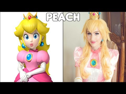 Super Mario Characters In Real Life