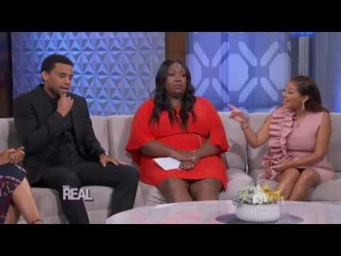 Michael Ealy The Real 9 21 16