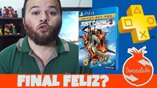 Just Cause 3 - Final Feliz - JOGOS DA PlayStation PLUS BR SETEMBRO 2017