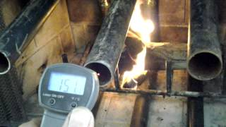 Fireplace Heat Exchanger - Homemade