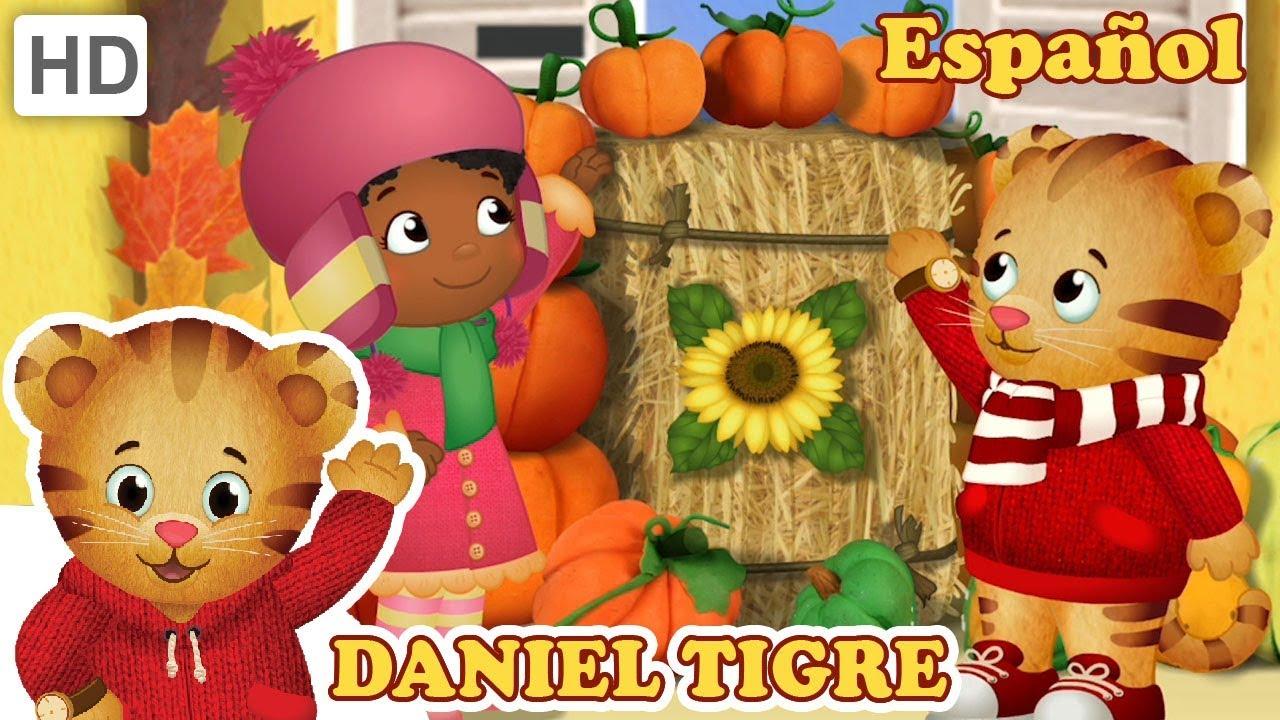 Daniel Tigre en Español 🍂 ¡Una Celebración de Otoño! - YouTube