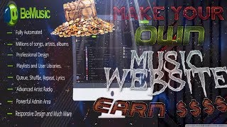 make-your-own-music-streaming-website-earn