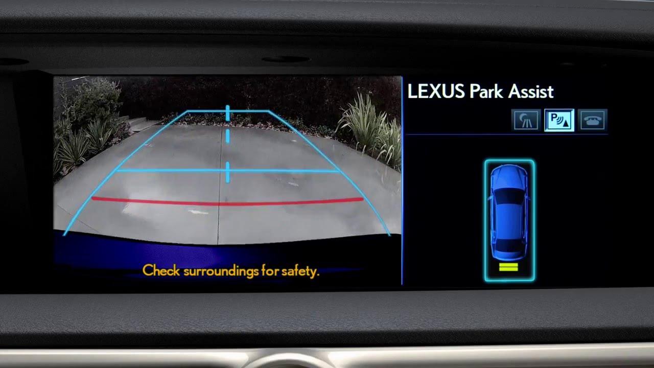 2013 Lexus GS Intuitive Parking Assist YouTube