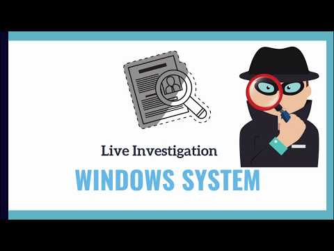 Live Investigation Of Windows System In Hindi | Digital Forensic Lectures