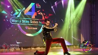 Vladislav Anachkov  - Dance Show | 4th World Stars Salsa Festival