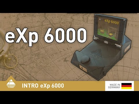 Kabelloser 3D-Bodenscanner eXp 6000 mit Videobrille