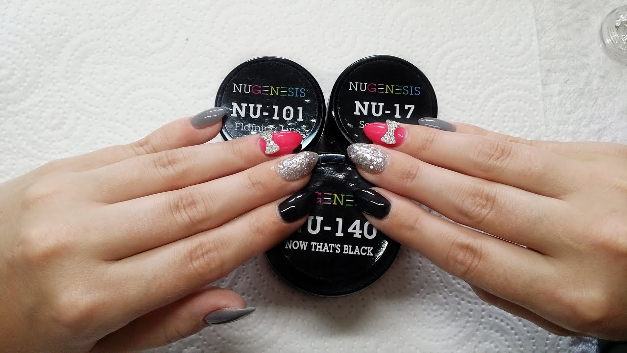 Dip Nails Nugenesis | Neue Farben | Overlays - YouTube