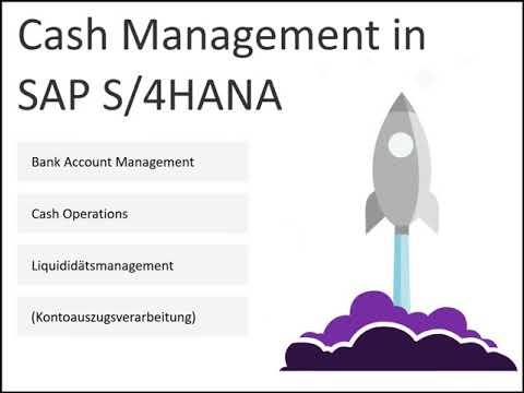 Das Cash Management in S/4HANA Finance